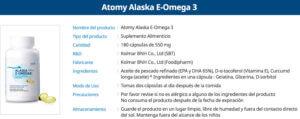 Omega 3 de Atomy